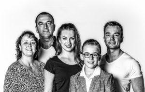 Familie, portret, zaandam, studio fotostudio, ebbesfotografie, centrum zaandam