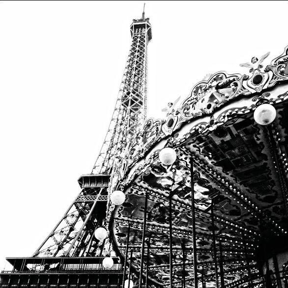 Eifeltower, tower, paris, france