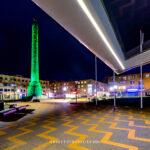 Avondklok fotograaf nederland, avondklok Lelystad, beeld lely, stadhuis lelystad, corona lelystad, fotografie avondklok, gemeente Lelystad